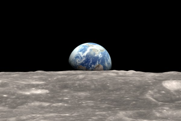 NASA Visible Earth: Earthrise Revisited