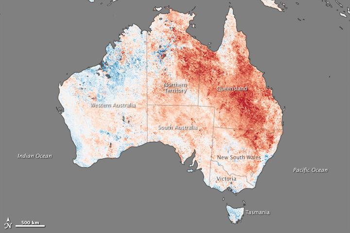 Heat Wave Stifles Australia