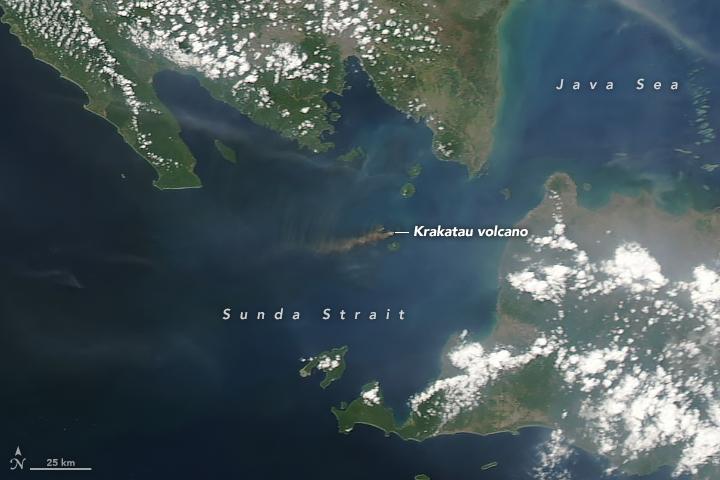 Activity at Krakatau