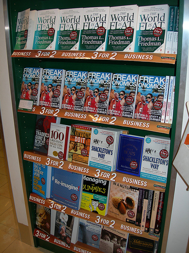 The bestsellers at London City Airport - DSCN3939 From Flick User Larsz