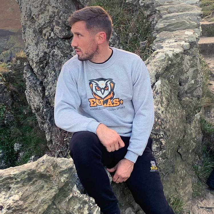 Eolas+ Grey Sweatshirt