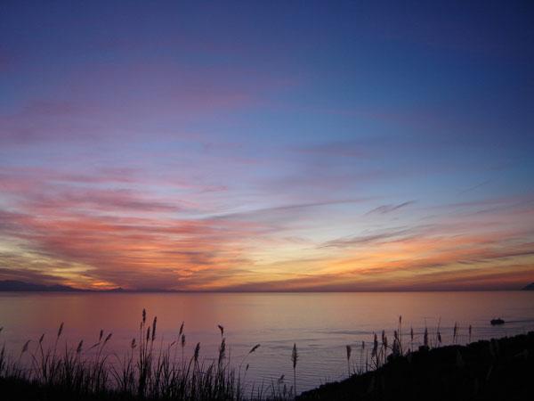 Lipari, l'ultimo tramonto 2009