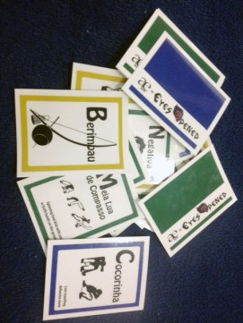 Children's Capoeira Flashcards - AVE