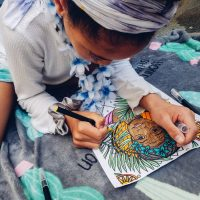 The Divine Coloring Book
