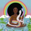 Ayida Wedo: Art by Fermina Marie for The Divine Coloring Book © 2020 Christine Joy Amagan Ferrer