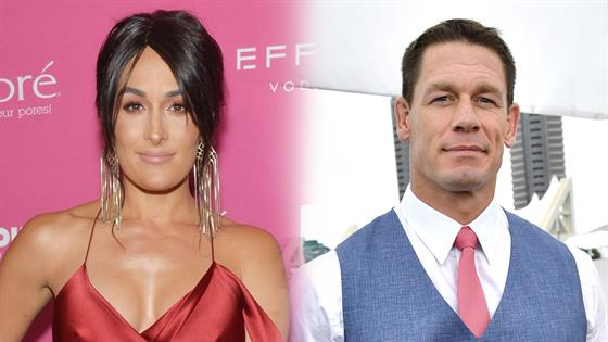 John Cena and Girlfriend Shay Shariatzadeh Make Their Red Carpet Debut 1