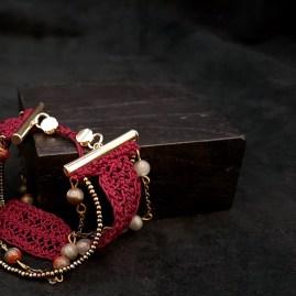 HORTENSE bracelet en crochet fait main