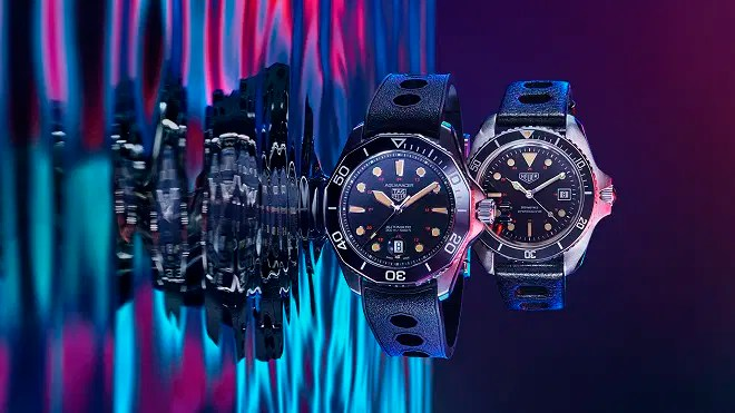 TAG Heuer STILL in water