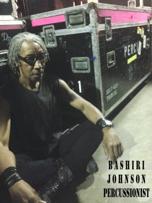 Bashiri Johnson Percussionist