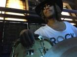 Bashiri with ROCK tee shirt