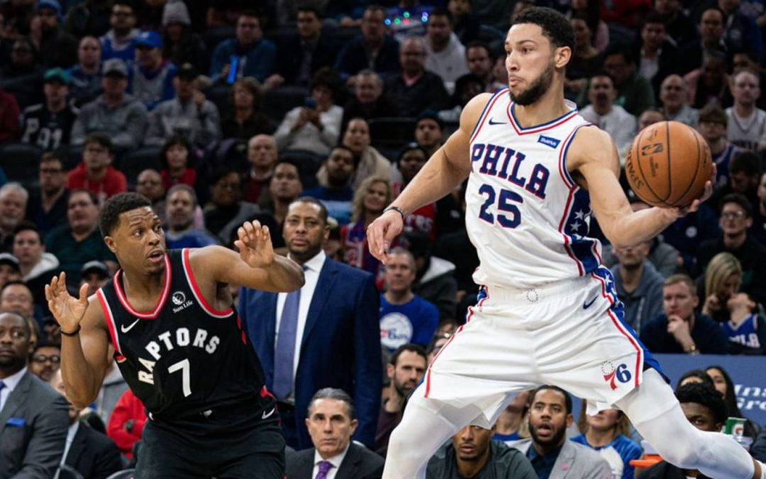 Sixers Fall to Raptors, 107-95