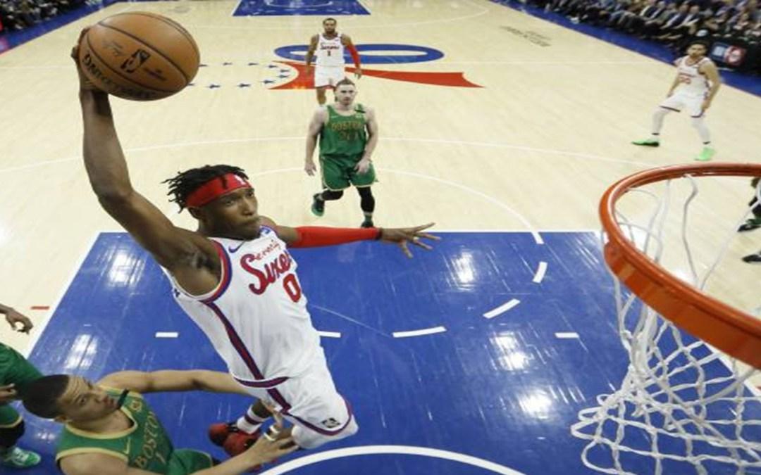 Embiid-less Sixers Beat Celtics, 109-98