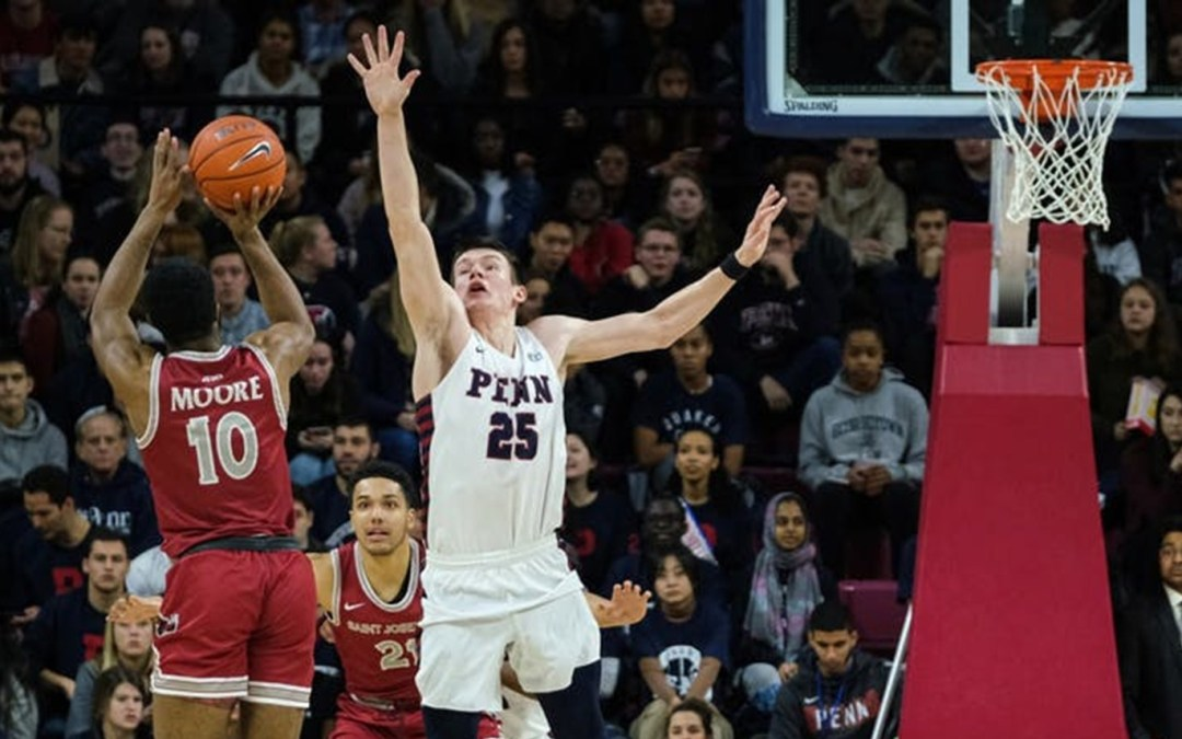 St. Joseph's Swooped Down on the Penn Quakers,87-81