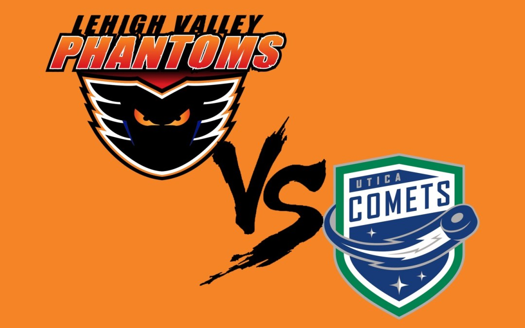 Justin Bailey Hat-trick Leads Utica over Phantoms, 5-2