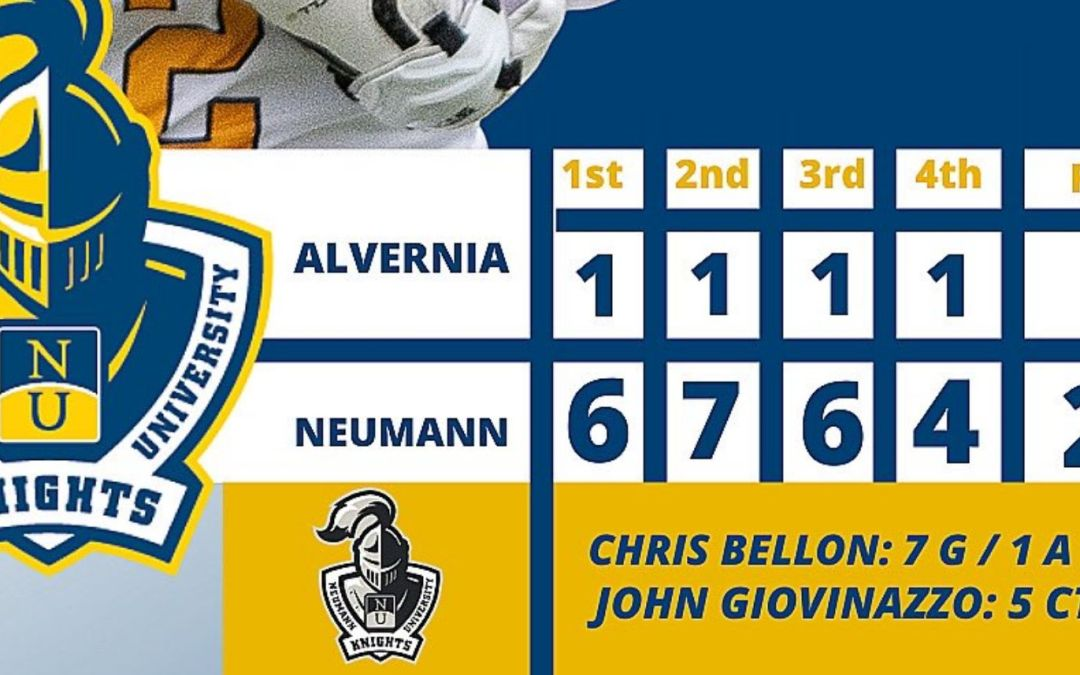 Neumann Opens With Statement Win, 23-4