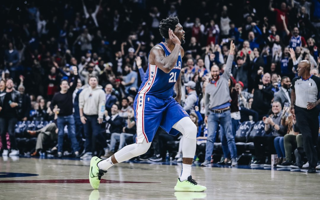 "Joel ""The Process"" Embiid – Sixers beat Hawks!"