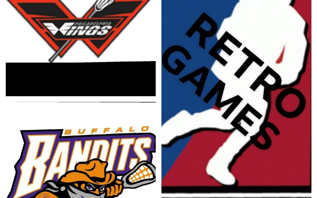 National Lacrosse League (NLL) Retro Games