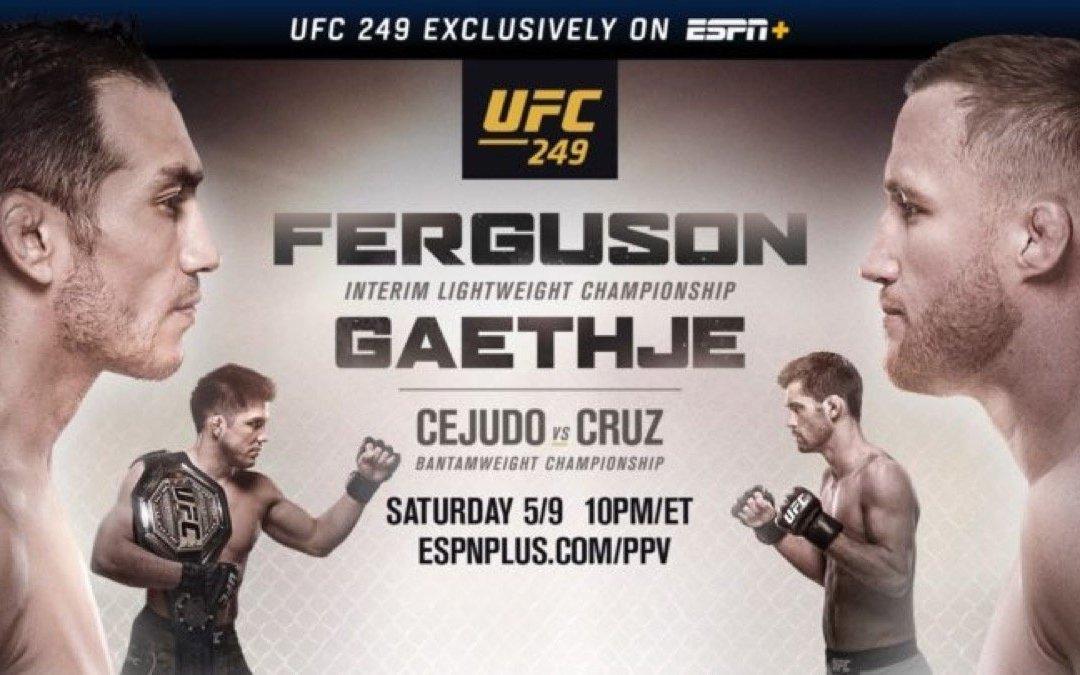 Inside UFC 249: Live Tonight!
