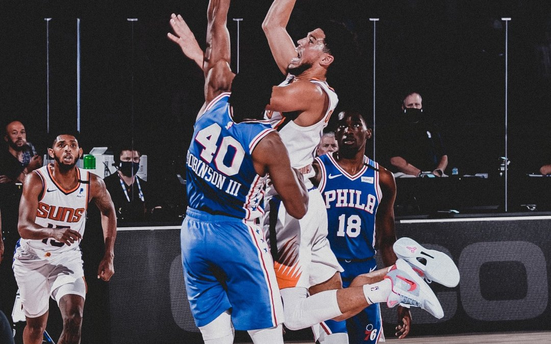 Former Sixers Shine for Suns, Booker Drops 35