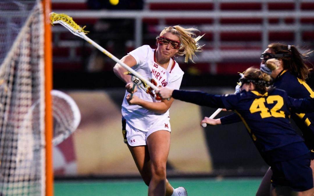 Maryland Ladies Hold off Michigan