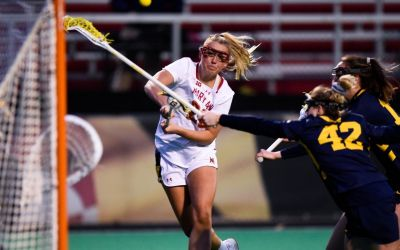 Maryland Ladies Hold off Michigan