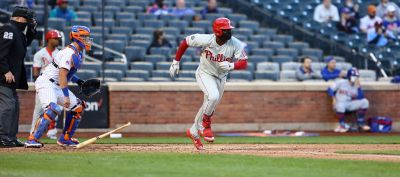 Phillies drop both ends of a twin bill.