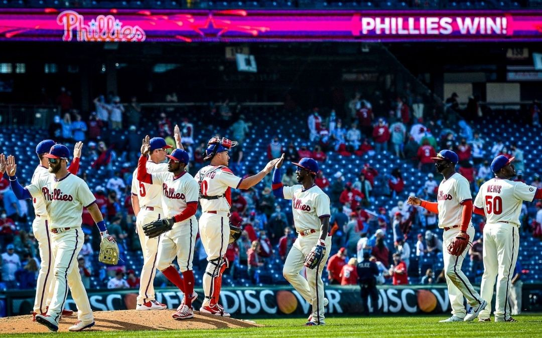 Phillies Complete Sweep