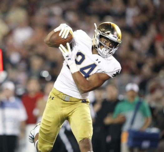 2021 Draft Prospect TE Tommy Tremble, Notre Dame