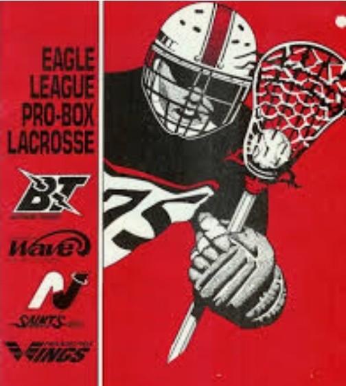Eagle Pro Box Lacrosse League (EPBLL) Retro Game From 1987