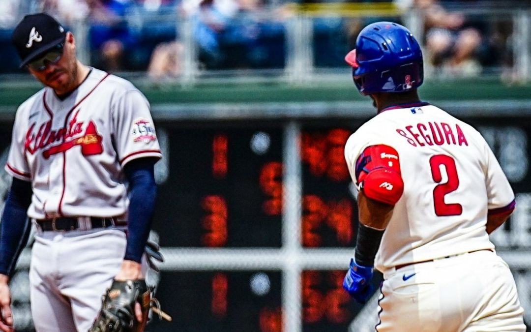 The Phillies Get Beat, Badly