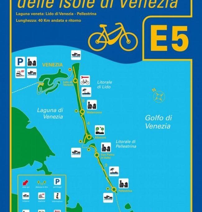Ciclovia E5 delle Isole di Venezia