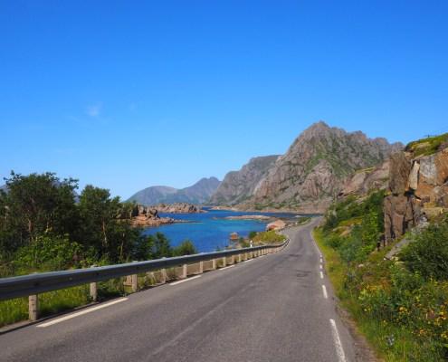 strada panoramica per Henningsvaer