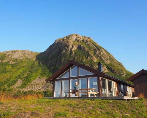 caratteristico Lodges a Gimsoya