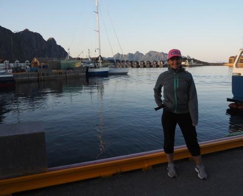 Arrivata nel porto di Svolvaer