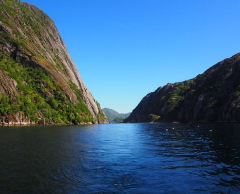 nel mezzo del Trollfjord