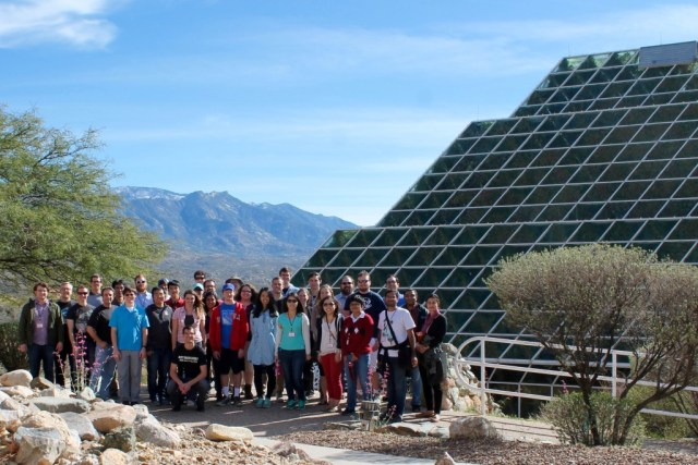 Arizona Winter School group photo by Kevin Conklin.