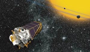 The Kepler spacecraft has monitored the brightness of over a 100.000 stars for four years. The tiny dip in brightness when a planet passes in front of one of these stars is called a transit. Kepler has discovered more than a thousand planets this way, and many more thousands of planet candidates awaiting verification. Image Credit: NASA Ames.