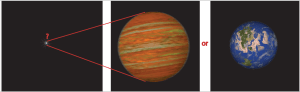 Imaged terrestrial and giant exoplanets occupy a single pixel in our images. That single pixel holds all the information about the atmosphere (and possible surface) of these exotic worlds.