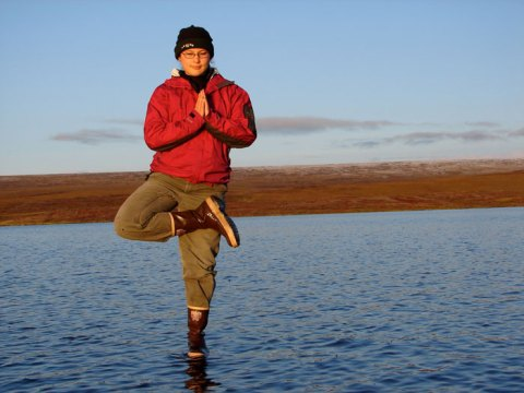 Wei-Haas' doctoral research was focused at Toolik Field Station in Alaska. Courtesy of Maya Wei-Haas.