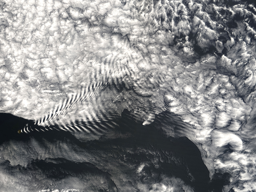 Researchers track how weather close to Earth's surface influences the ionosphere.