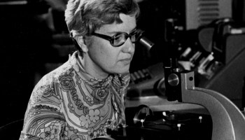 Vera Rubin at the Carnegie Institution for Science.