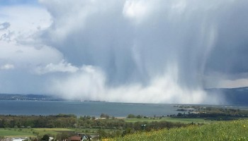 Researchers test climate model resolution with a decade of precipitation data