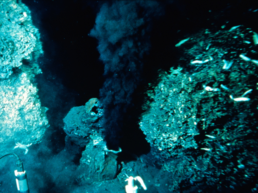 Researchers look to hydrothermal vents for clues into the movement of Earth's lower crust