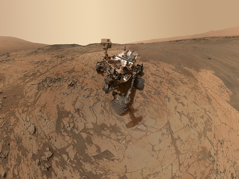 Researchers examine mudstone in Mars's Gale crater to unravel the history of liquid surface water