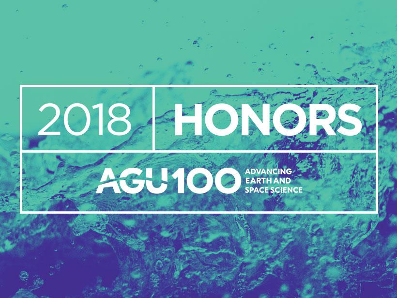 AGU 2018 honors image