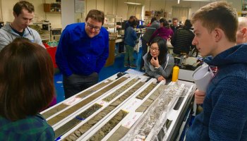 Ocean drilling cores offer insight into subduction zone behavior and how it might generate earthquakes and tsunamis