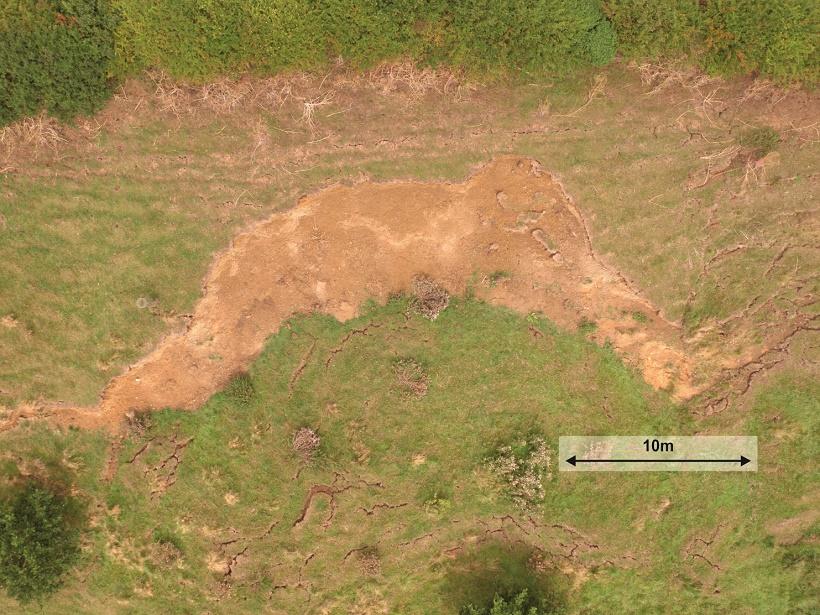 Hollin Hill Landslide Observatory, North Yorkshire, UK,