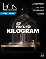January 2019 Eos cover: The New Kilogram