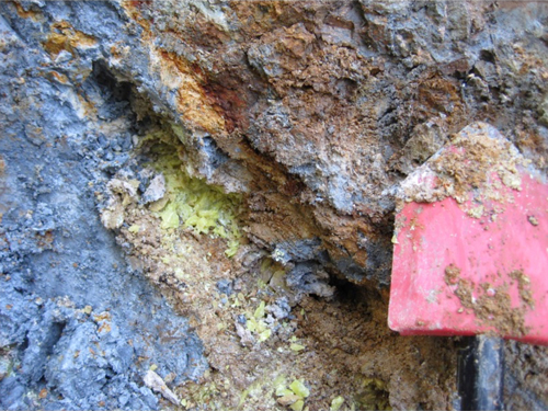 This blue clay from Oregon was especially successful at killing bacteria.