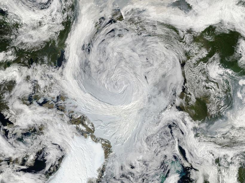 Arctic cyclone